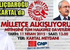 CHP, Seçim Mitinglerine Kartal'dan Başlıyor