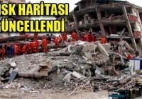 İstanbul'un Risk Haritası Güncellendi